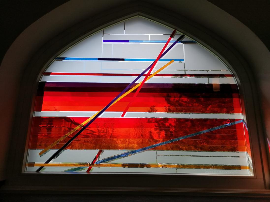 Hoffnungsvoll Fenster